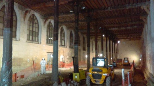 Rénovation du réfectoire du couvent des Cordeliers (Épisode I)